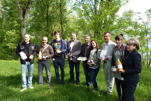 The Producers of the saveurs du Grand Parc